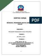 Kertas kerja Bengkel Batik