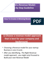 How to Build a Revenue Model.ppt differnce companies.ppt