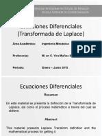 Ecuaciones Diferenciales (Transformada de Laplace).pptx