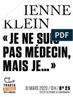 Je ne suis pas médecin, mais je… by Étienne Klein (z-lib.org)