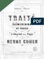 IMSLP509630-PMLP825952-Cohen,Henry - Traité de Contrepoint Et Fugue - Bk-BDH