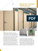 Doors for Corrosive Environments