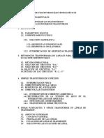 TRANSITORIOS ELECTROMAGNETICOS