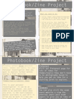 journal project photography