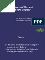 scale musicali