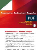 PRESENTACIÓN Nº4 Preparación y evaluación de proyectos