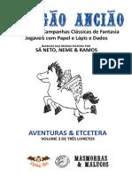 Dragao Anciao Vol.iii - Aventuras e Etcetera