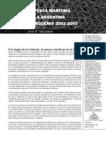 Villemur, Juan Pedro (2006) - La pesca marítima en la Argentina quinquenio (2001-2005)