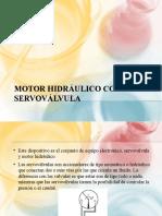 MOTOR HIDRÁULICO CON SERVOVÁLVULA