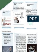 folleto motivacion