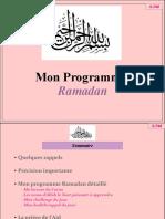 Programme Ramadan