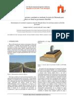 Determinación de ecuaciones constitutivas mediante la teoría de Odemark para análisis no lineal en pavimentos flexibles