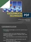 Experimental Techniques