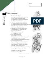 Textes et questions de français CM2