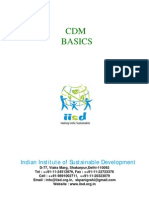 Cdm Basics of Carbon