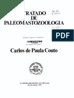 Tratado de Paleomastozoologia-Carlos de Paula Couto