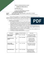 INFORME TRABAJO REMO I.E SAN JUAN B. SEMANA 2- ABRIL 2020