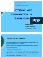 Denotation and Connotation (Revised)