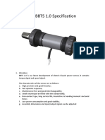 bottom bracket torque sensor size