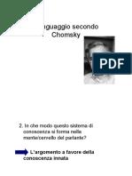 Il linguaggio secondo Chomsky.pdf