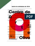 CAO - Relatório de atividades 2019-2