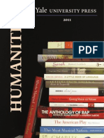 Yale University Press 2011 Humanities Catalog
