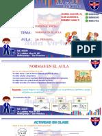 2DO - SEMANA 2 - NORMAS EN EL AULA
