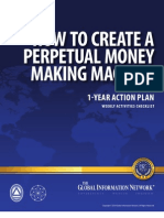 Perpetual Money Making Machine Checklist