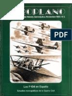 Revista Aeroplano número 03 del año 1985