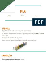 8 AEDS1 AULA 8 - FILA