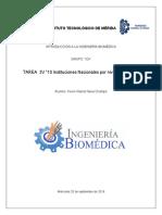 Clasificacion de instituciones de salud en México