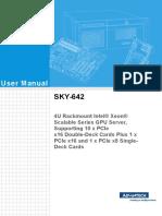 Sky-642 User Manual Ed.1-Final