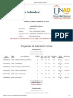 Estudiantes_ Registro Académico Informativo notas Jhon Reales Unad