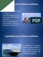 Liquidación de fletes maritimos (2)