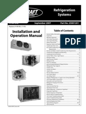 heatcraft evaporator coil wiring diagram heatcraft installation manual thermostat refrigerator  heatcraft installation manual