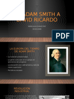 De Adam Smith a David ricardo