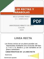 TALLER RECTAS Y PARABOLAS