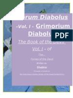 Grimorium Diabolus (the Book of the Devil I)