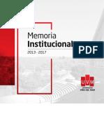memoria-institucional-UVM-2017