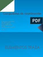 ELEMENTOS TRAZA ..