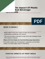 presentation on media