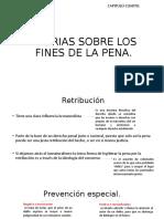 TEORIAS SOBRE LOS FINES DE LA PENA (1)