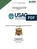 DIAGNOSTICO POR SECTORES PROBLEMAS Y PROBLEMA SELECCIONADO OCTUBRE 2019