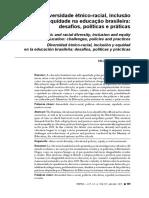 diversidade etnico-racial, inclusao e equidade na educacao brasileira