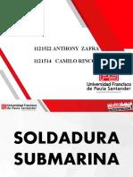 PRESENTACION SOLDADURA SUBMARINA