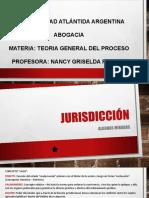 JURISDICCIÓN- 1er clase