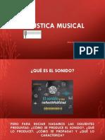 ACÚSTICA MUSICAL DIAPOSITIVAS