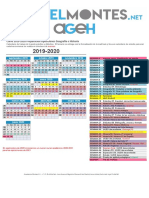 Calendario Curso Online 19-20 (para 2021)