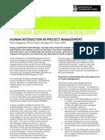 Human Interaction in Project Management_mano-Nugapitaya