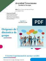 Orígenes de la dinámica de grupo
